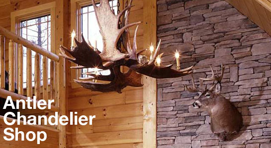 Antler Chandelier Deer Antler Chandeliers – Real Deer Antler Chandelier