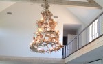 Real Antler Fallow Deer Multi-Tier Chandelier