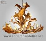 Fallow / Mule Deer Chandelier FMDCLSTR