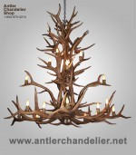 Reproduction Elk Avalanche Chandelier CRL-14
