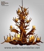 Reproduction Aspen Chandelier CRL-24