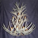 Reproduction Mule Deer Chandelier