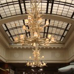 Reproduction Elk Avalanche Chandelier