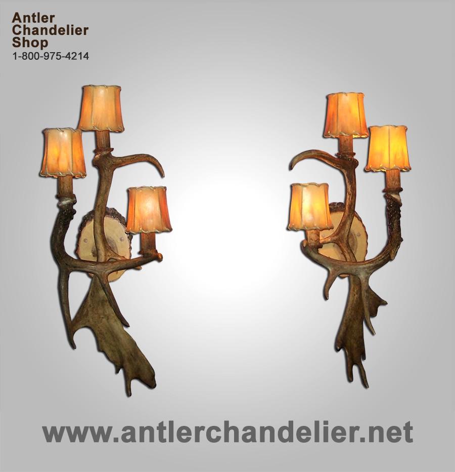 Antler Sconces | Antler Chandelier