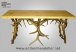 Real Antler Mule Deer & Elk Buffet / Side Table