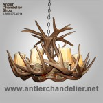 Reproduction White-tail Antler Chandelier CRS-1