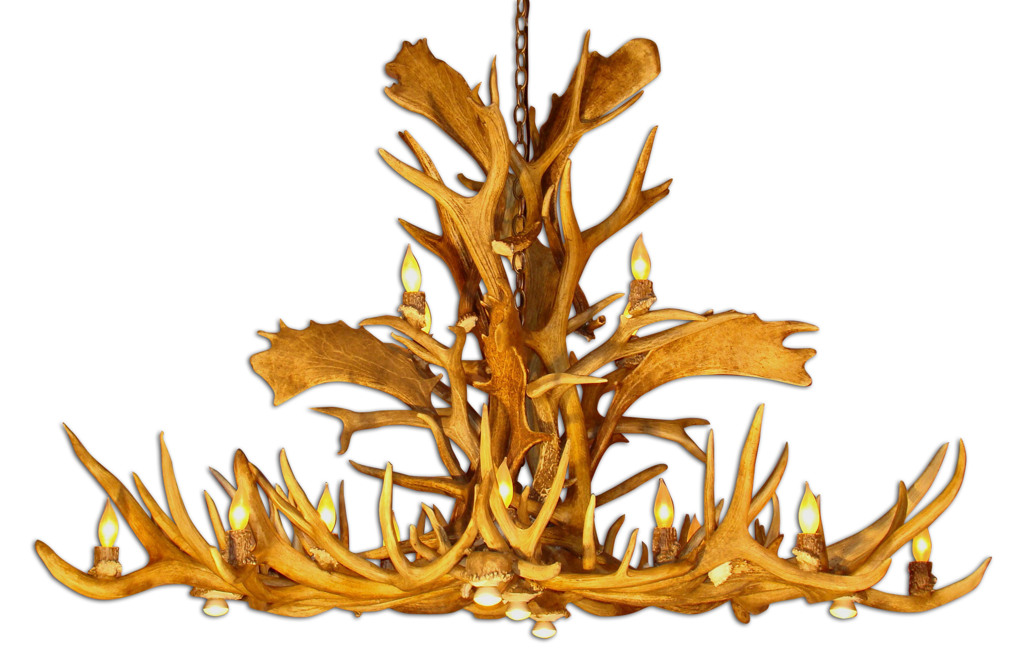 How To Build Antler Chandelier Make An Chandelier