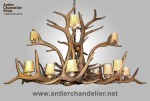 Reproduction Elk Chandelier CRL-15