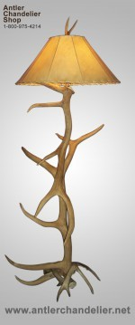 Real & Reproduction Antler Floor Lamps