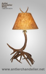 Antler Deer Table Lamp