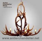 Elk Yellowstone Chandelier EYC