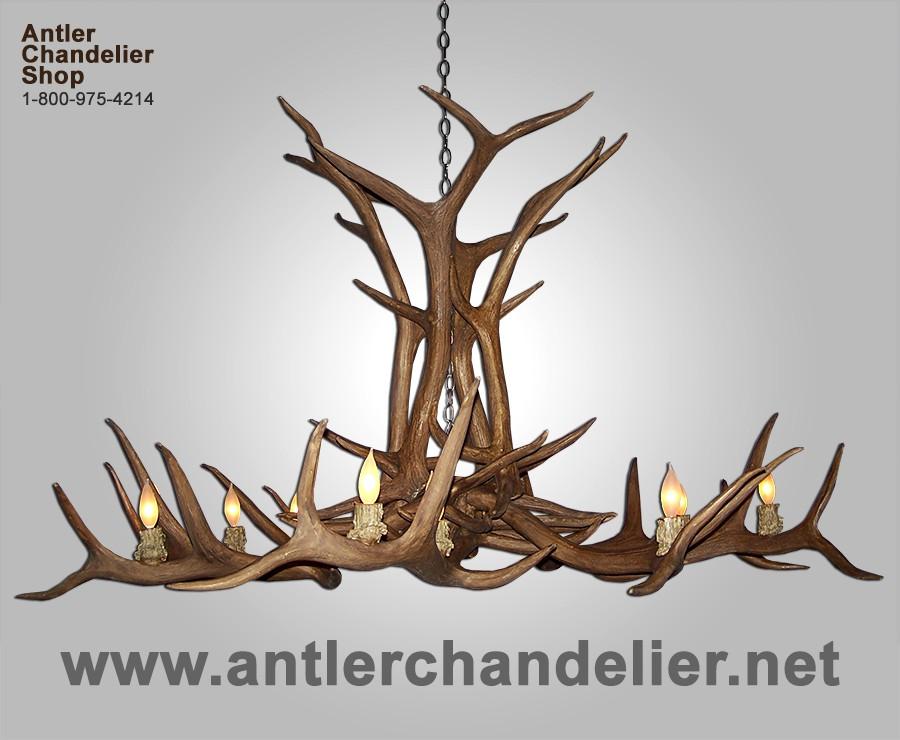 Reproduction elk antler chandelier crl 12 antler chandelier reproduction elk antler chandelier crl 12 aloadofball Images