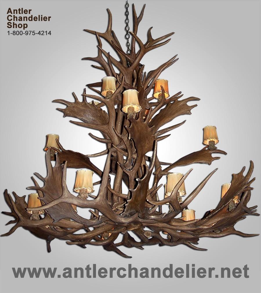 Xl antler chandeliers antler chandelier reproduction elk fallow grand chandelier crl 23 arubaitofo Gallery
